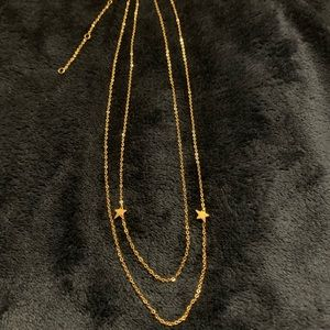 Jennifer Zeuner Jewelry star charm necklace